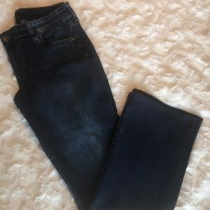 KUT FROM THE KLOTH BOOT CUT JEANS SIZE 12